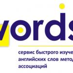 WordsUP — сервис быстрого изучения иностранных слов