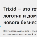 Trixid — магазин будущих брендов