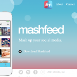Mashfeed позволяет упорядочить контент социальных сетей