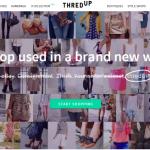 Интернет-магазин ThredUp подружится с высокой модой