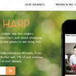 Orange Harp делает шопинг социально ответственным
