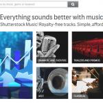 Shutterstock запускает музыкальный сервис