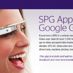 Гостиничные номера видны через Google Glass