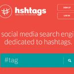 Поисковая система Hshtags может искать по хэштегам