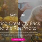 Сообщество SeeMe выпустило мобильное приложение для пользовательского дизайна футболок