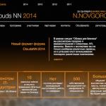 IV Международный ITфорум по облачным технологиям для бизнеса«CloudsNN 2014»