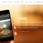 На создание биржи интерактивной мобильной рекламы компания Adtile привлекла $4,5 миллионов