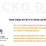 Google поглотила студию Gecko Design