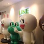 Line поделила своих 490 млн зарегистрированных пользователей по регионам