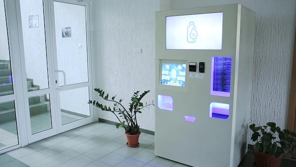 TalTal - купить вендинговый автомат по продаже талой воды