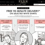 Thomas Pink обеспечит клиентов чистыми рубашками