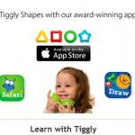 Tiggly — обучающее iPad-приложение для младенцев и малышей