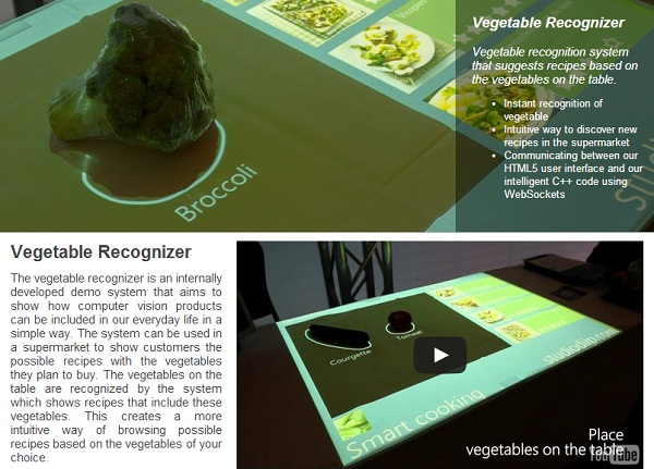 The Vegetable Recognizer
