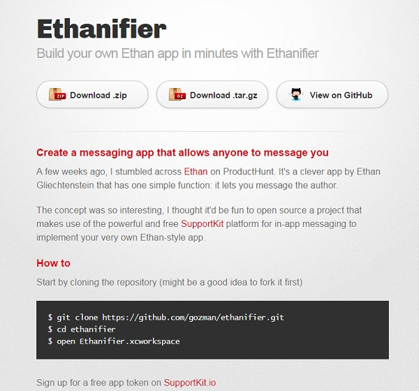 Ethanifier