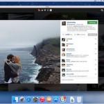 Заставка Grids для Mac — лента фотографий из instagram