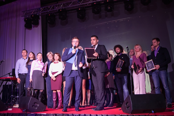 Торжественная церемония подведения итогов  Всемирной недели предпринимательства в Москве