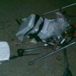 Квадрокоптер с 3кг метамфетамина рухнул на границе с Калифорнией