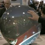 PufferSphere M — круглый дисплей для панорамных фото