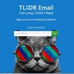 Приложение TL;DR превратит e-mail в нечто большее
