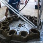 В Италии 3D-принтер строит доступное жилье из глины
