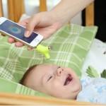 Термометр Wishbone измерит температуру ребенку