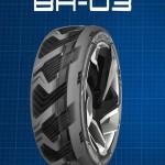 Goodyear показала специальные шины для электрокаров
