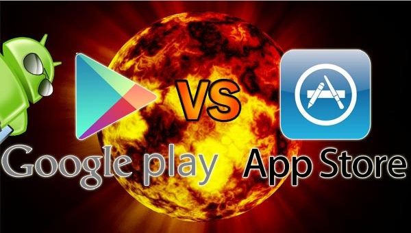 Google play vs app store