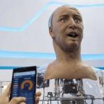 Робот Han похож на человека