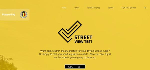 Street View Test