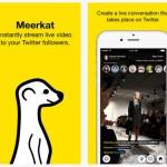 Meerkat – популярное livestream-приложение