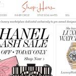 Shop Hers – онлайн-торговля роскошью