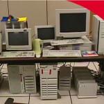 Фото офиса Google 1998го года