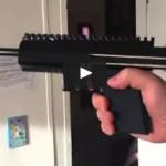 3D-принтер позволил напечатать пистолет для стрельбы дротиками