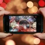 Снимать видео можно с помощью мобильного телефона