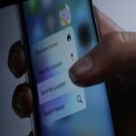 Новейшая 3D Touch технология в iPhone 6s