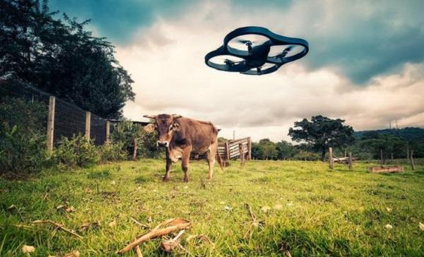 Farmer drone