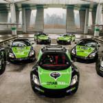 McLaren, Maserati, Porsche и Aston Martin для клиентов GrabTaxi