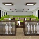 Маленькие роботы DOM Indoors обставят комнату за минуту