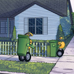 Volvo создаст роботов для уборки мусора