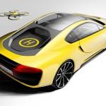 В самоуправляемый спорткар от Rinspeed встроен беспилотник