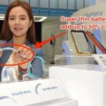 Новая гибкая батарея от Samsung