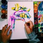 Шестикласница, победившая в конкурсе от Google, через 7 лет стала успешным художником