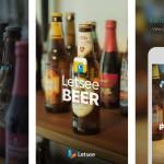 Shazam для пива — Letsee