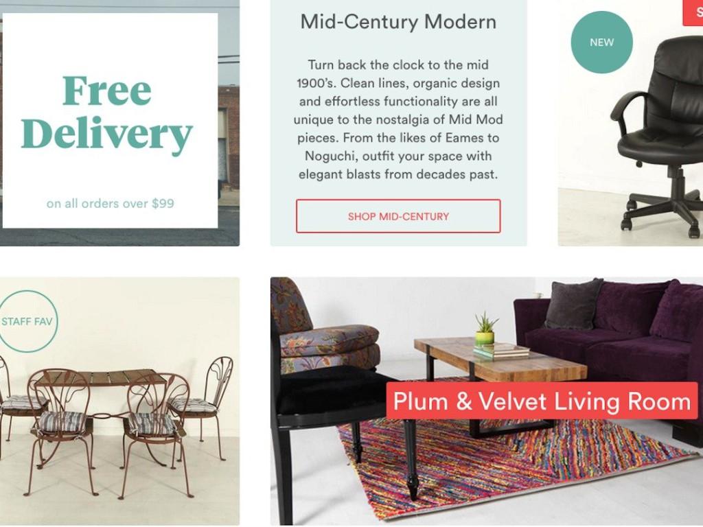 Комиссионный онлайн-магазин мебели
