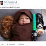 Марк Цукерберг растит фанатку Звездных войн