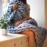 Уникальные гигантские одеяла и пледы