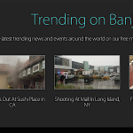 Banjo: последние новости из социальных медиа на основе местоположения