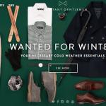 Combatant Gentlemen: изменяет рынок дорогой мужской одежды