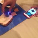 Крошечный сканер, определяющий калорийность продуктов