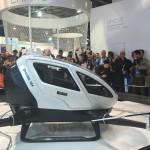 Ehang 184 — Китайский самоуправляемый пассажирский дрон